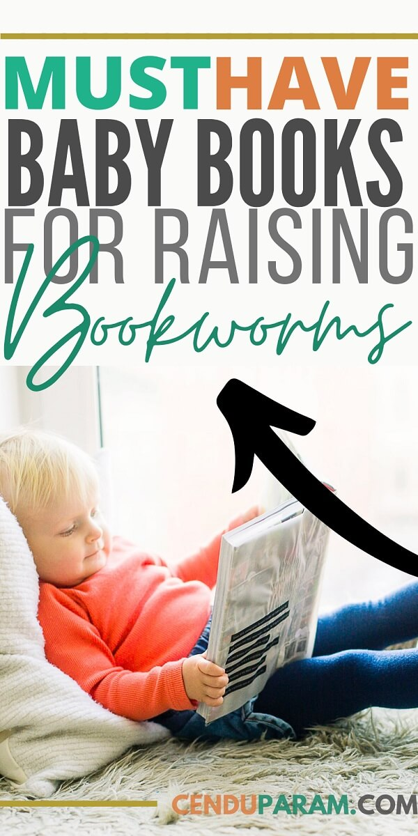 baby reading book