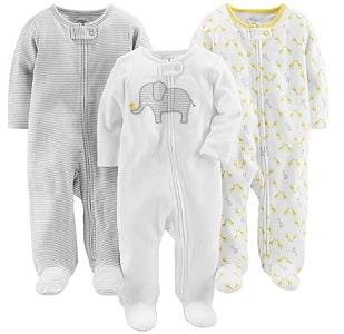 baby sleepers 3 pack