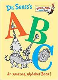 Dr Seus book cover ABCs