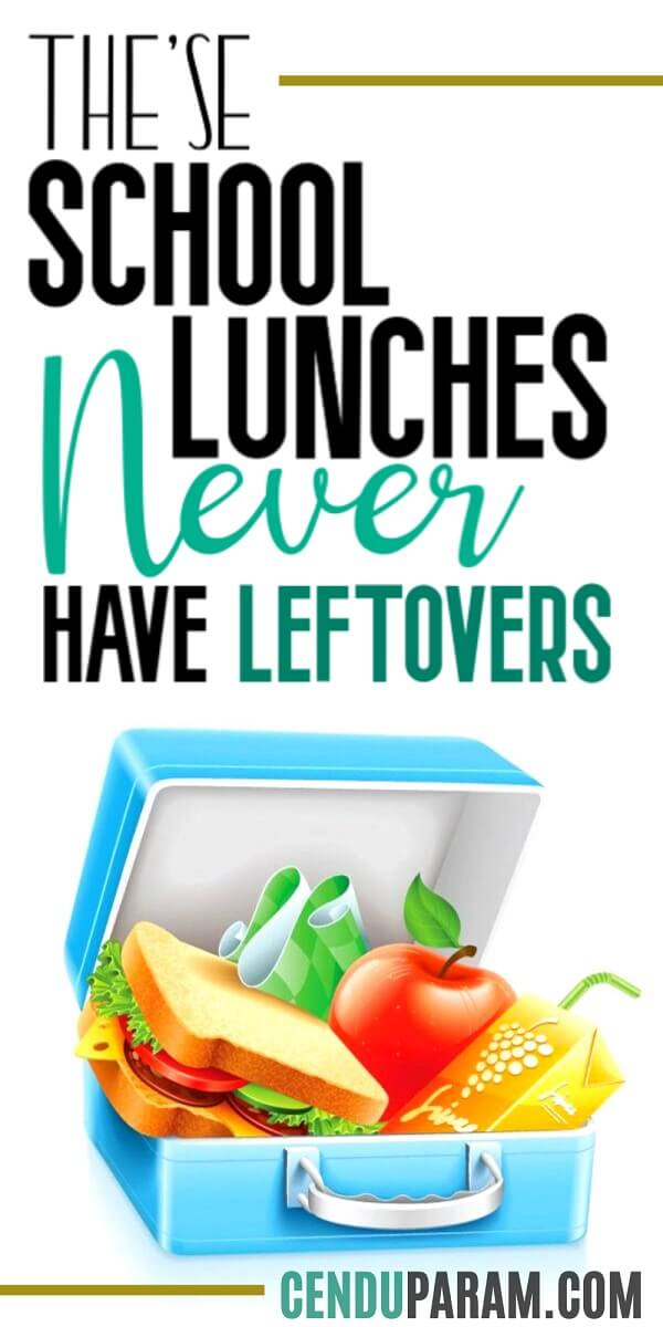 school lunch box with healthy lunch for kids