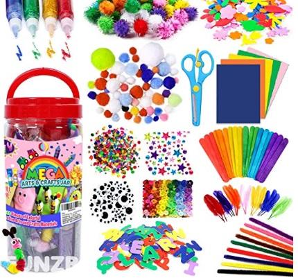 Children's crafting supplies