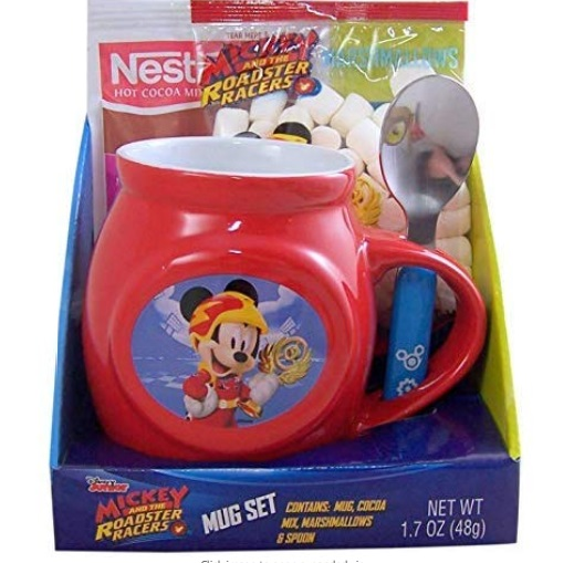 Mickey mouse hot chocolate set