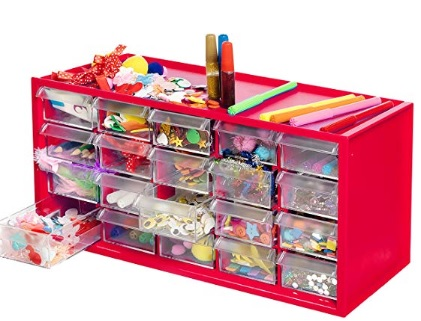 arts and crafts organizer for kids