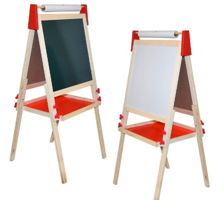 two art easels for toddlers