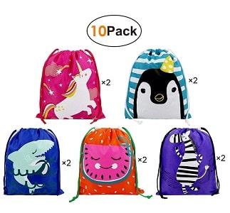 kids drawstring bag many colors