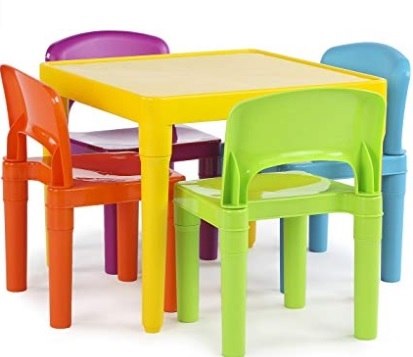 childrens plastic table and chair set for christmas