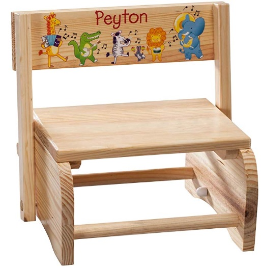 personalized chair with child's name