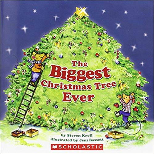 book cover the biggest christmas tree ever