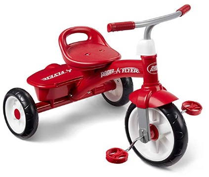 red radio flyer tricycle best gift for 2 year olds