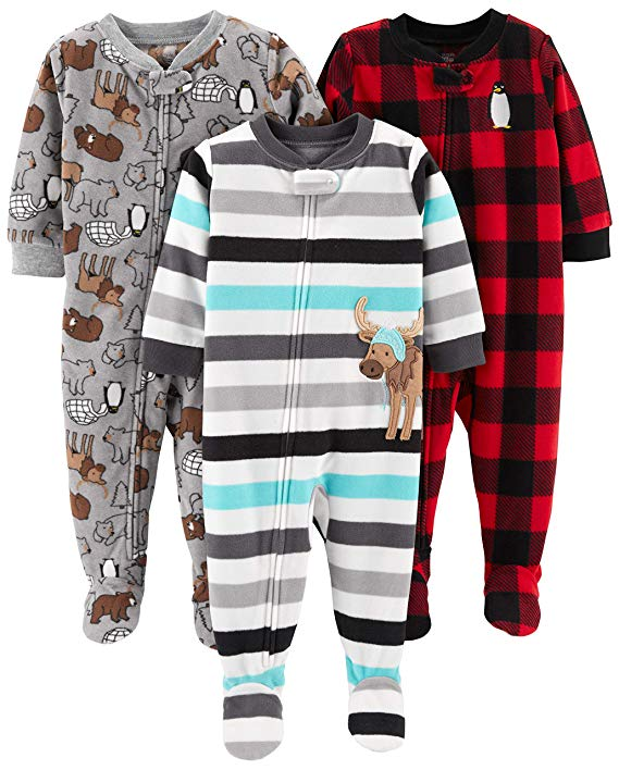 sleeper pjs for cold winters with baby