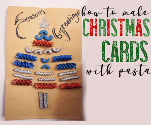 homemade Christmas Cards by kids