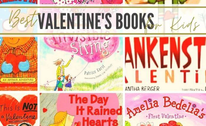 A list of the best kids Valentine books