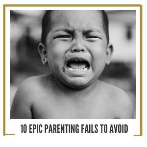 crying child bad parenting