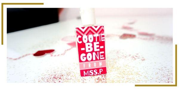 Valentines Hand Sanitizer label template