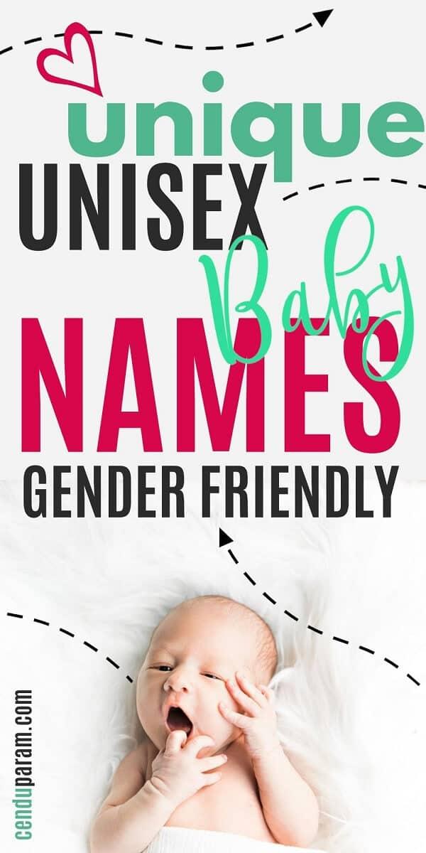 gender neutral looking baby