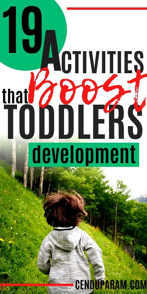 toddler activities that boost development- where to take 2 year old outside