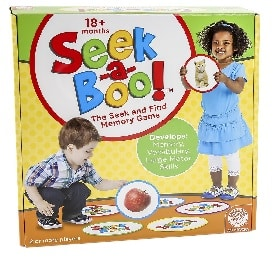 Seek-a-boo educational game for 2 year olds