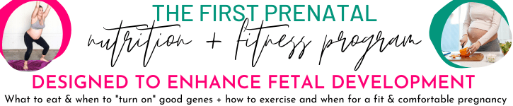 pregnancy fitness and nutrition program ad