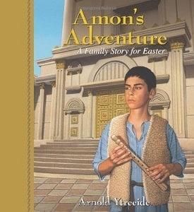 Amon's adventure book cover
