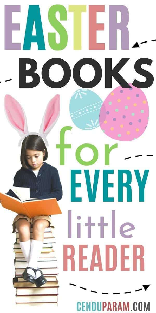 school girl reading the best Easter books