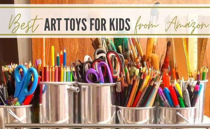 Art toys and craft kits for kids