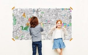 art toy giant coloring poster for kids