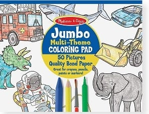 jumbo coloring book for kids