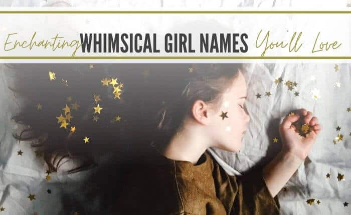 whimsical girl sleeping with stars spinkled on her