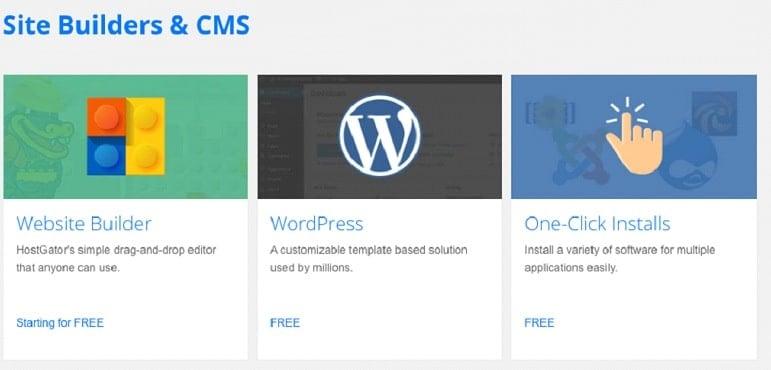 click install wordpress image