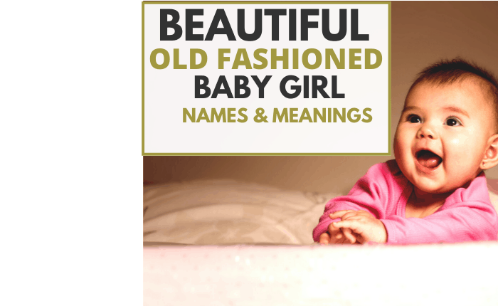 old fashioned baby girl wearing pink