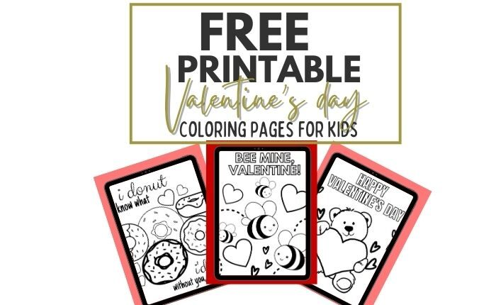 free printable valentines day coloring page pdf
