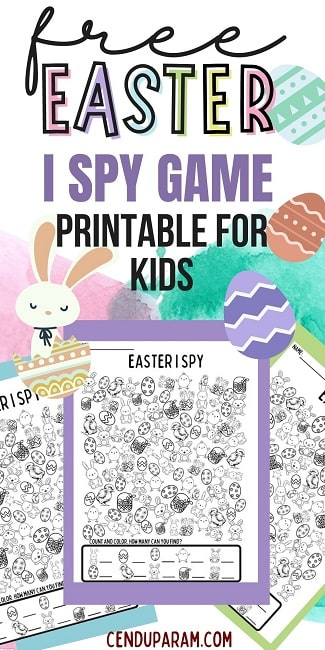easter i spy counting skills game free printable