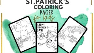 st.patrick's day coloring pages free printalbe