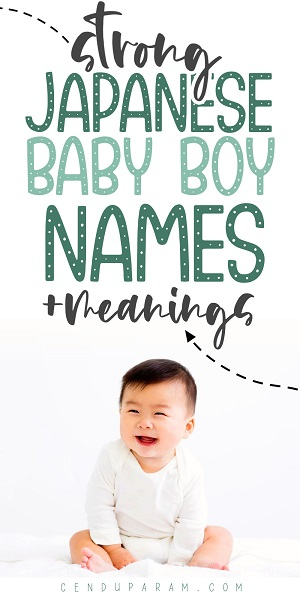 cute Japanese baby boy with title Japanese boy names and meanings