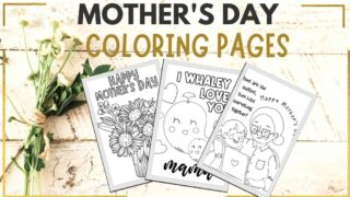 mother's day printable mothers day coloring pages