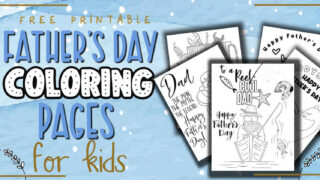 fathers day coloring sheet printable