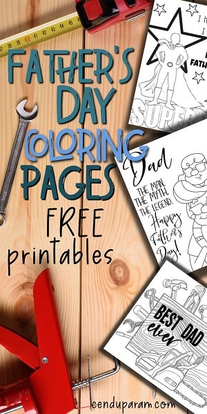 fathers day coloring sheets pdf