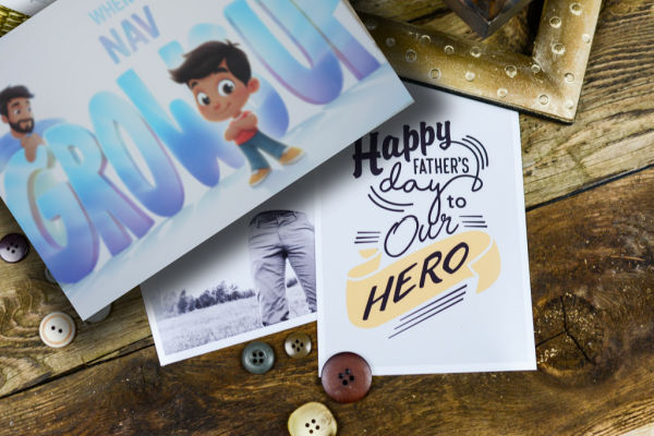 Hooray Heroes Fathers day book
