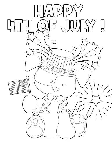 fourth of July coloring pages for preschoolers