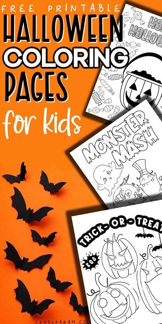 halloween coloring pages online free