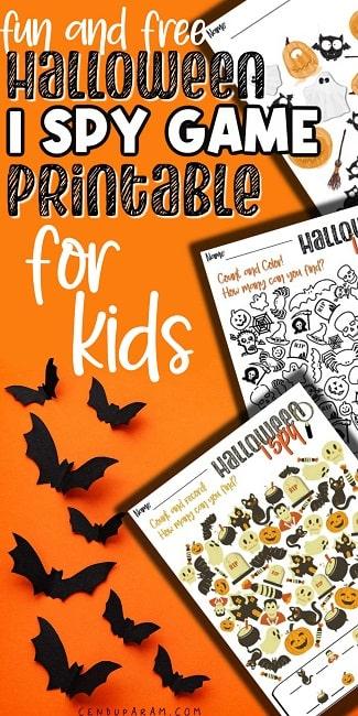 halloween i spy game template