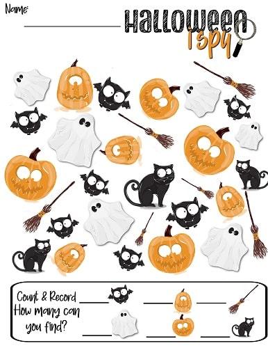 halloween i spy printable worksheets for kids