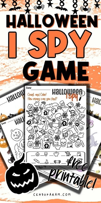 halloween i spy puzzles for to print for free