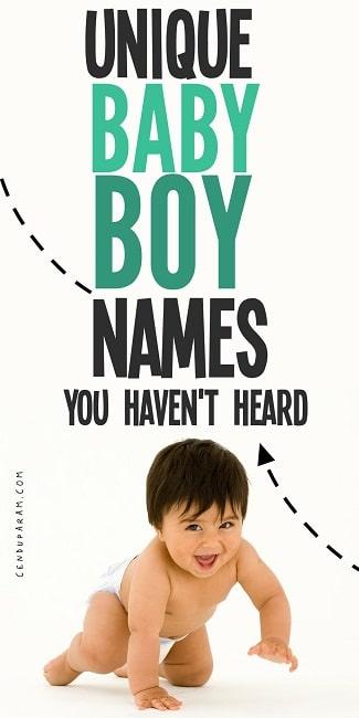 unique boy names no one has